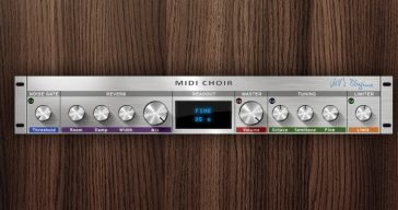 "Free ""MIDI Choir"" Pitch Shifter VST Plugin By MV's Plugins"