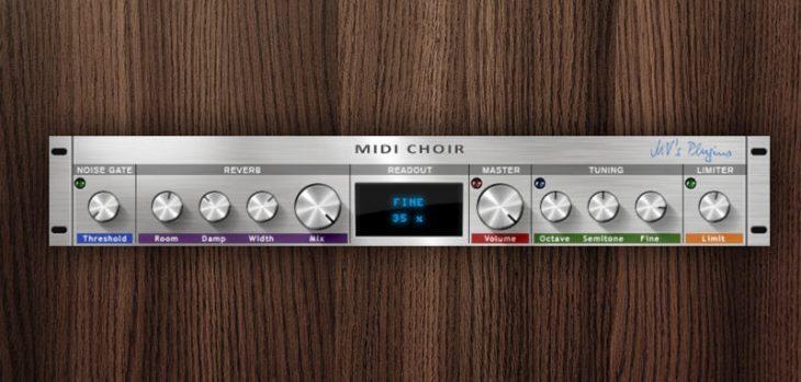 "Free ""MIDI Choir"" Pitch Shifter VST Plugin By MV's Plugins"