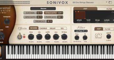 Grab SONiVOX Orchestral Companion Strings For Just $1!
