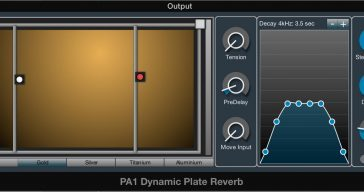 Free PA1 (BETA) Dynamic Plate Reverb By Physical Audio (Mac OS)