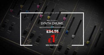 Get Wave Alchemy Synth Drums For Just £1 (Offer Ends Dec 14th)