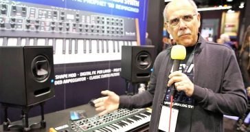Dave Smith Instruments Introduces REV2 @ NAMM 2017