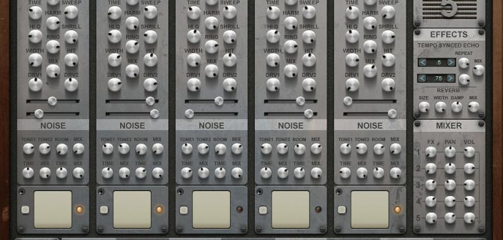Krakli Releases Free KR5 Drum Synthesizer VST Plugin For Windows