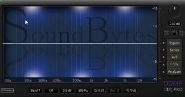 Soundbytes Magazine Releases Free SB DDMF IIEQ Pro VST/AU Plugin