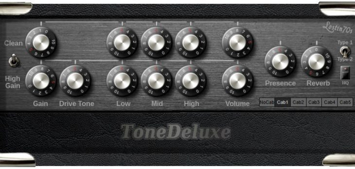 Free Tone Deluxe Virtual Guitar Amplifier VST Plugin