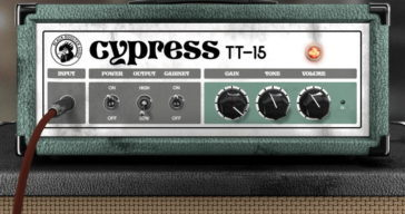 Free Cypress TT-15 Guitar Amp VST/AU Plugin By Black Rooster Audio