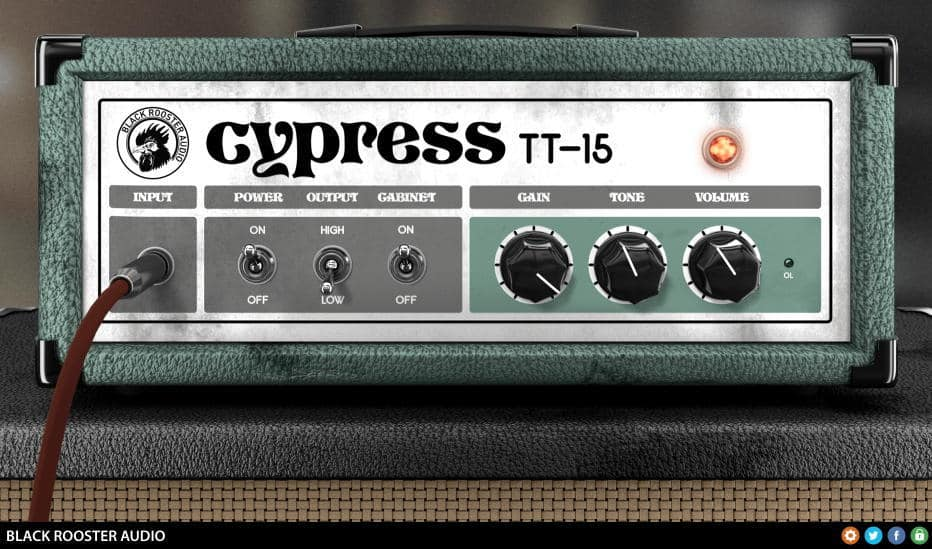 free cypress tt 15 guitar amp vst au plugin by black rooster audio bedroom producers blog. Black Bedroom Furniture Sets. Home Design Ideas