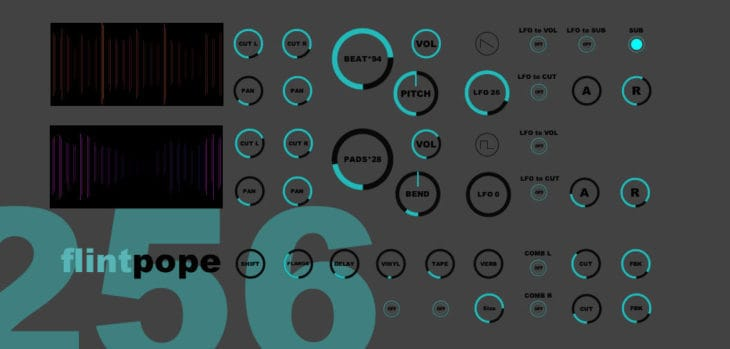 Nick Dwyer Releases Free Flintpope 256 Instrument For NI Reaktor