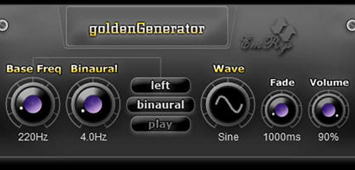 SaschArt Releases Free GoldenGenerator VST Plugin