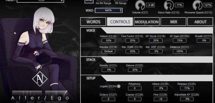 Vocallective NATA Review (Alter/Ego Voice Bank)