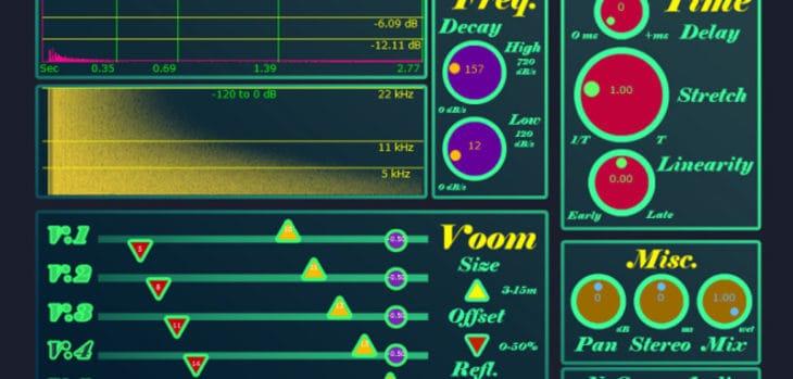 Free Riviera Reverb VST Plugin by NuSpace Audio
