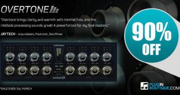 Get 90% OFF SoundSpot Overtone @ Pluginboutique