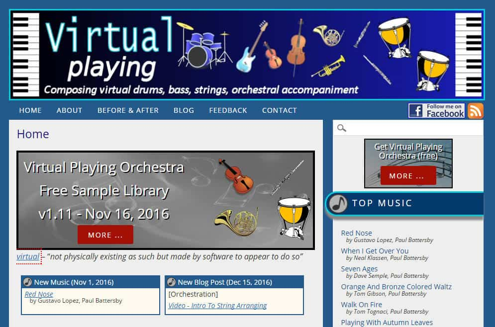 Free Virtual Playing Orchestra Released By Paul Battersby