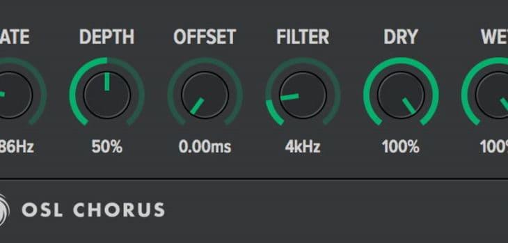 Free Juno 60 Chorus Effect VST/AU Plugin By Oblivion Sound Lab