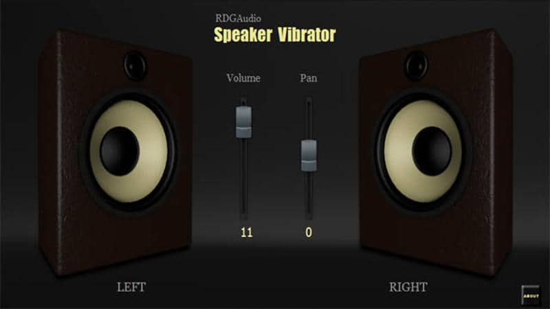RDGAudio Intros Free Speaker Vibrator Audio Visualizer VST