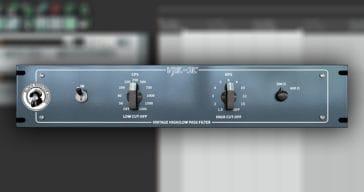Free VHL-3C Pultec Filter VST/AU Plugin by Black Rooster Audio.