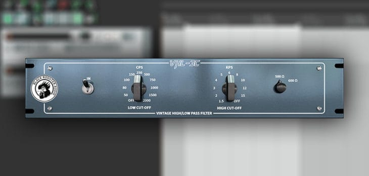 Free VHL-3C Pultec Filter VST/AU Plugin by Black Rooster Audio.