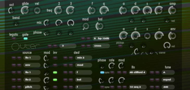 """Xoxos Releases Freeware """"Outer"""" Synthesizer VST Plugin"""