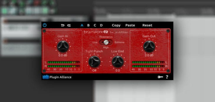 Plugin Alliance Releases Free Brainworx bx_subfilter VST/AU Plugin