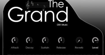 The Grand - Free Grand Piano Rompler Released By DSK Music