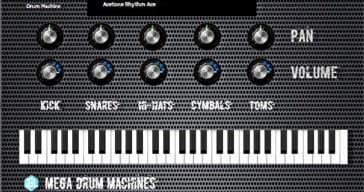 Autodafe Releases Free Mega Drum Machines VST/AU Plugin
