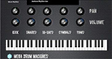Autodafe Releases Free Mega Drum Machines VST/AU Plugin