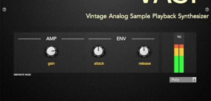 Greynote Music Releases Free VASP Analog Synth Rompler (VST/AU)