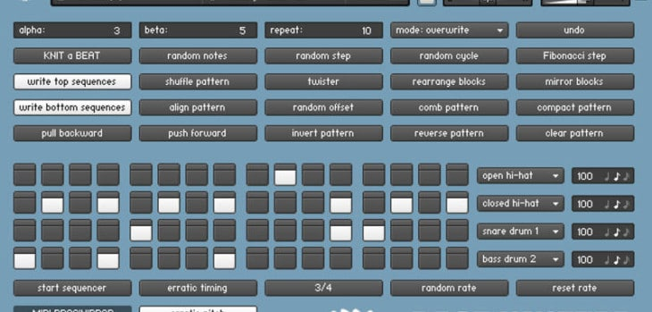Free Random Drum Pattern Generator For Kontakt By SZCZ