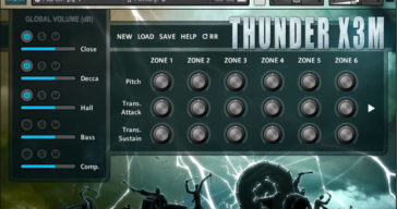 Strezov Sampling Intros Thunder X3M Taiko Freebie For Kontakt