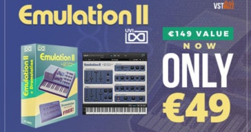 Get 67% OFF UVI Emulation II @ VSTBuzz! (Ends On June 4th)