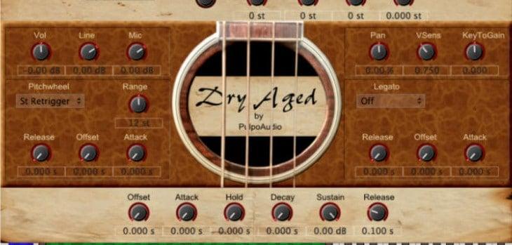Free Dry Aged Bass VST/AU Plugin By Pulpo Audio
