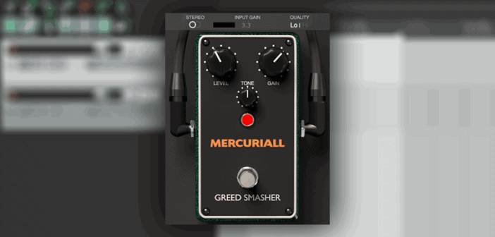 """Mercuriall Releases Free """"Greed Smasher"""" Stompbox VST/AU Plugin"""