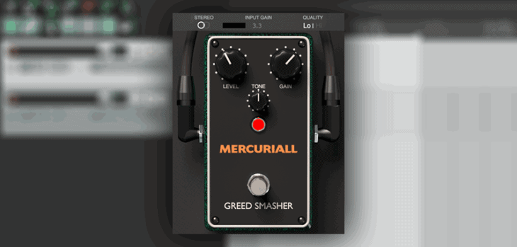 "Mercuriall Releases Free ""Greed Smasher"" Stompbox VST/AU Plugin"