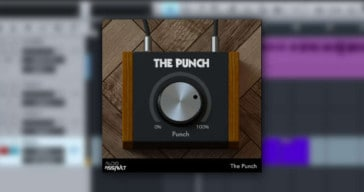 Audio Assault's The Punch Transient Shaper Is FREE Until July 10th