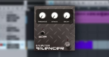 Kuassa Releases Free Efektor Silencer Noise Gate VST/AU/AAX Plugin