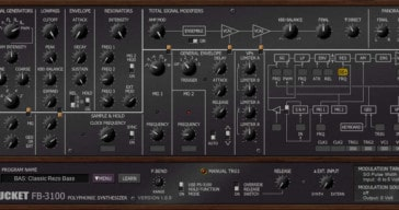 Full Bucket Music Releases Free Korg PS-3100 Emulation VST Plugin