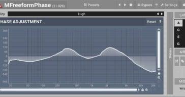 Free MFreeformPhase Phase Adjustment VST/AU Plugin Released