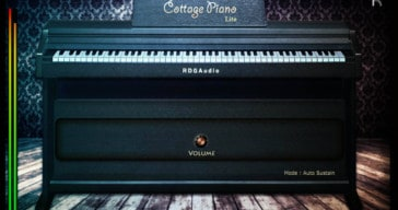 RDG Audio Releases Free Cottage Piano Lite VST/AU Plugin