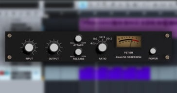 Analog Obsession Release Free Fetish Compressor VST/AU/AAX Plugin