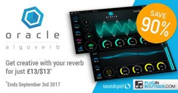 Get SoundSpot Oracle Reverb VST/AU Plugin For $13 (90% OFF)