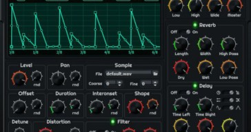 Vasily Makarov Intros PolyGAS Free Granular Synthesizer VST Plugin
