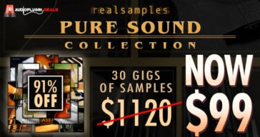 Insane 91% OFF Realsamples Legacy Bundle @ Audio Plugin Deals!