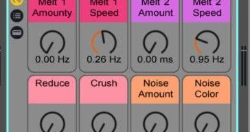 AfroDJMac Releases Free MELT Factor Effect Rack For Ableton Live