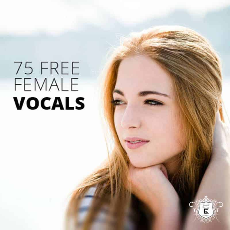 75 Free Female Vocal Samples Released By Ghosthack (WAV) - Bedroom