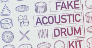 500 Free Pseudo-Acoustic Drum Samples Released By Dustyroom