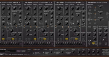 Free KORG PS-3300 Emulation VST/AU Plugin Released By FBM
