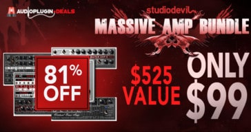 Get 81% OFF STUDIODEVIL Guitar & Bass Sims @ Audio Plugin Deals