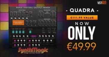 Get 55% OFF Synth Magic Quadra For NI Kontakt @ VSTBuzz