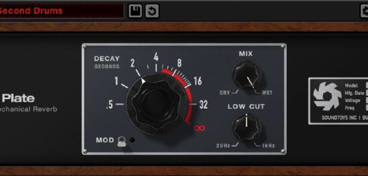 Soundtoys Little Plate Reverb Is FREE For A Limited Time Only