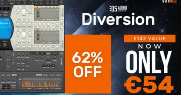 Get 62% OFF Diversion Synthesizer By Dmitry Sches (VST/AU)!